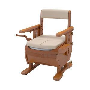 アロン化成 安寿 家具調トイレセレクトR はねあげ(533-868 標準・快適脱臭)