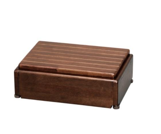 アロン化成 木製玄関台 S45W-30-1段 535570 ブラウン