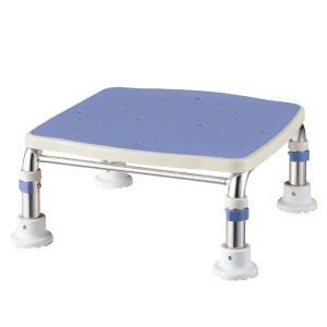アロン化成 ステンレス製浴槽台R ジャスト 536499 ブルー 20‐30cm