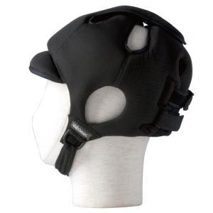 特殊衣料 アボネットガード Cタイプ(後頭部衝撃吸収重視型) メッシュタイプ 2032 ブラック