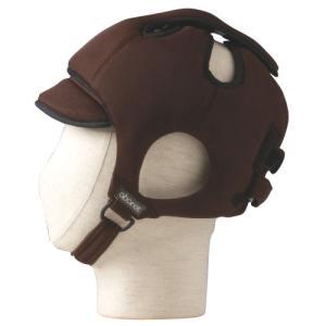 特殊衣料 アボネットガード Cタイプ(後頭部衝撃吸収重視型) メッシュタイプ 2032 ブラウン