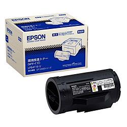 EPSON  環境推進トナー ブラック Mサイズ(LP-S340D/S340DN用)10,000枚 EP-TNLPB4T19VJ