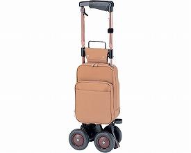 象印ベビー キャリーステッキ・ライト168 (茶) 本体重量:2.1kg 袋容量:9L キャリーシリーズ ショッピングカー
