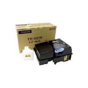 京セラミタ トナー(ブラック)、A4判約1万5千ページ印刷可能(LS-C8100DN用)TK-821K (1本入り)