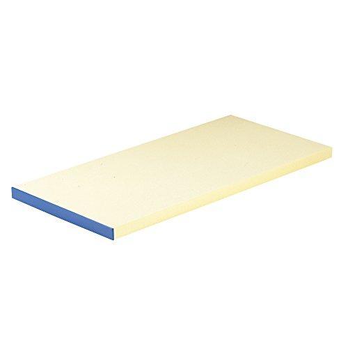 エムテートリマツ 天領 抗菌ピュアマナ板 カラー縁付 PK1A 50×25×厚さ20mm ブルー
