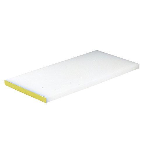 エムテートリマツ 天領 PCまな板 カラー縁付 K5A 75×33×厚さ20mm イエロー