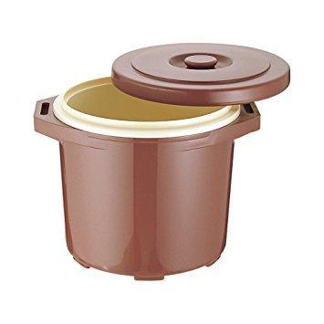 台和 プラスチック保温食缶ご飯用・大 DF-R1