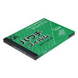コクヨ パウチフィルム 本日の目玉 100μm MSP-F267375N B4サイズ用267X375mm100枚 評価