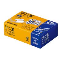 コクヨ ワニ玉中100個入り とじ枚数40枚 (クリ-84-10)
