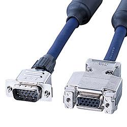 サンワサプライ ディスプレイ延長複合同軸ケーブル 品番:KB-CHD157FN