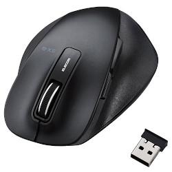 エレコム BlueLEDマウス 割り引き 握りの極み Mサイズ 無線 M-XGM10DBBK 2.4GHz ブラック お得セット 5ボタン