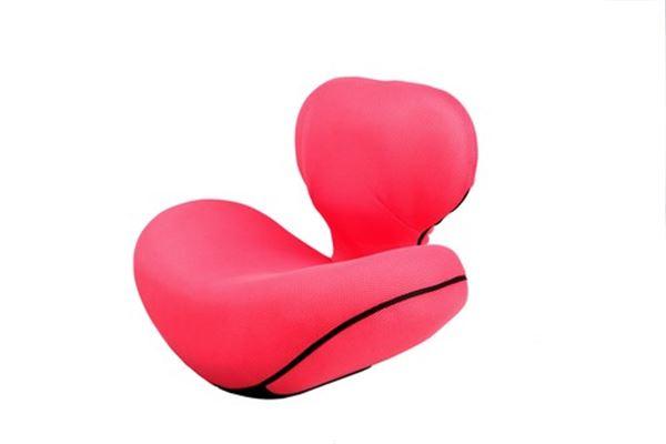 ゆらゆら姿勢座椅子 日本正規代理店品 ピンク 背筋を伸ばしてウエストすっきり 品質保証