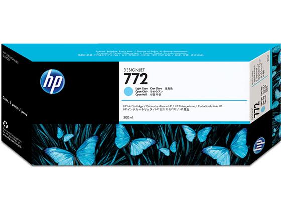 HP772 インクカートリッジ ライトシアン HP CN632A