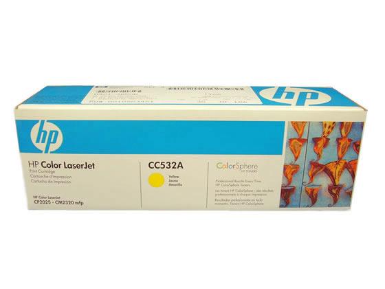 プリントカートリッジ イエロー HP CC532A