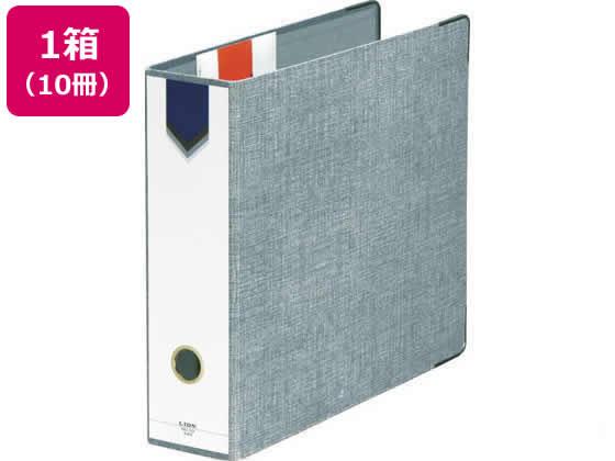 AZファイル A4タテ とじ厚47mm10冊 No.10 ライオン事務器 12001