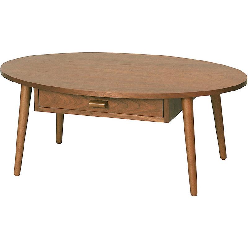センターテーブル Coln CT-K848W_BR [カラー:BROWN]