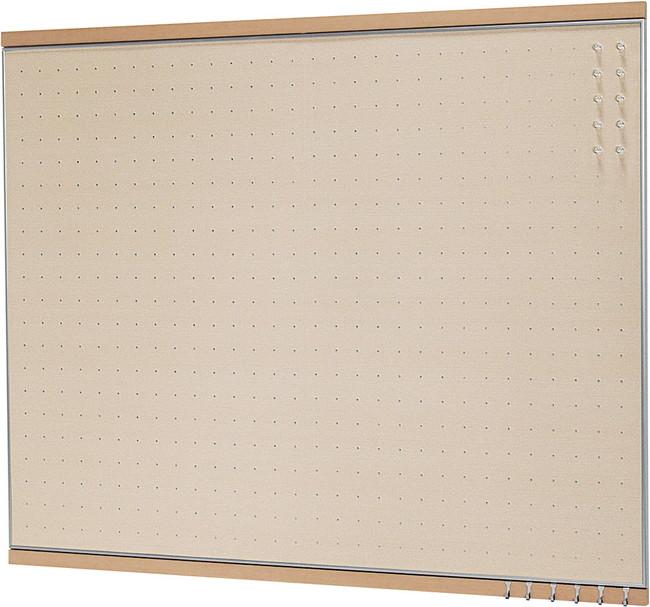 MR4053 フック付マグネットボード ナチュラル 900×1200