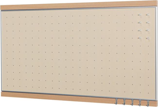 MR4118 フック付マグネットボード ナチュラル 450×900