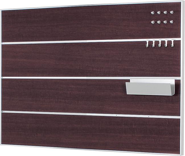 MR4148 スリットマグネットボード セピア 600×900