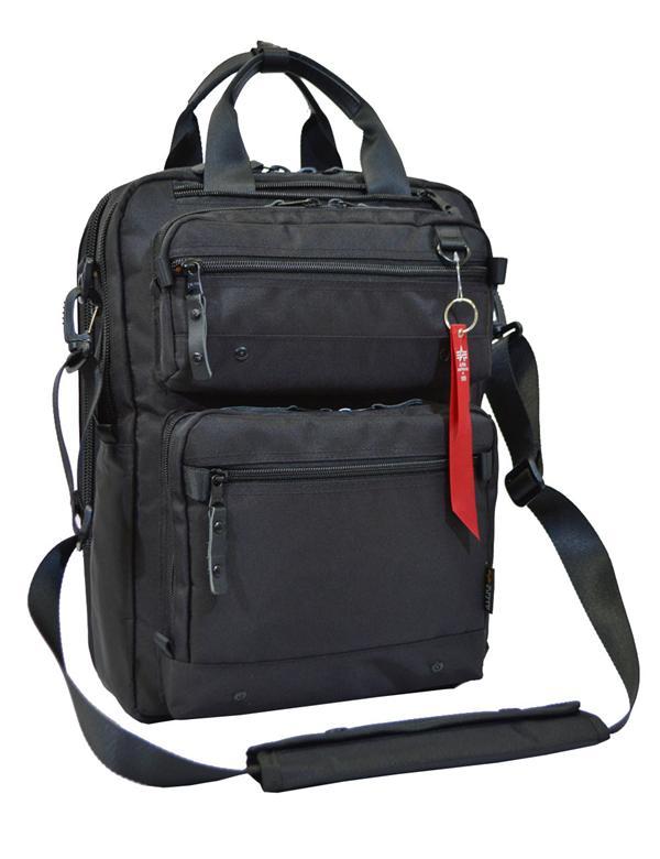 ALPHA 多機能ビジネスシリーズ G2:ALPHA #0495500 ビジネスバッグ(3WAY) カラー【クロ】