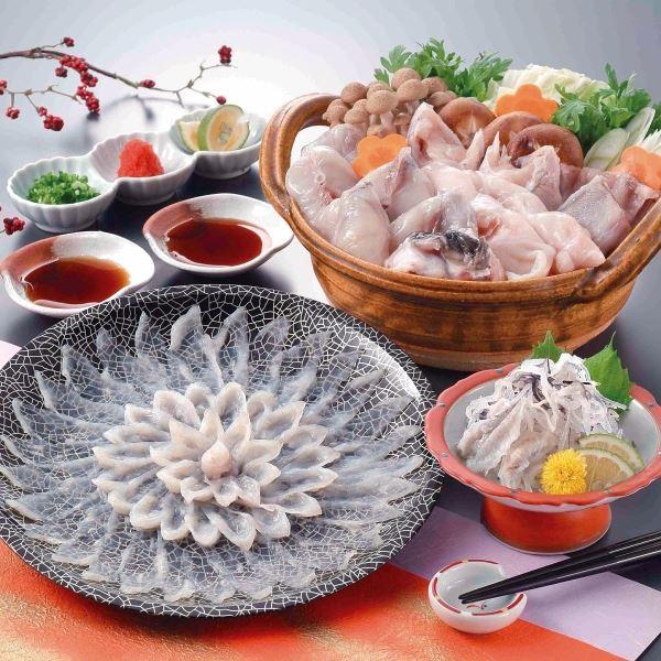 大阪北新地 魚匠料理 弁天 とらふぐ料理セット 【直送品】
