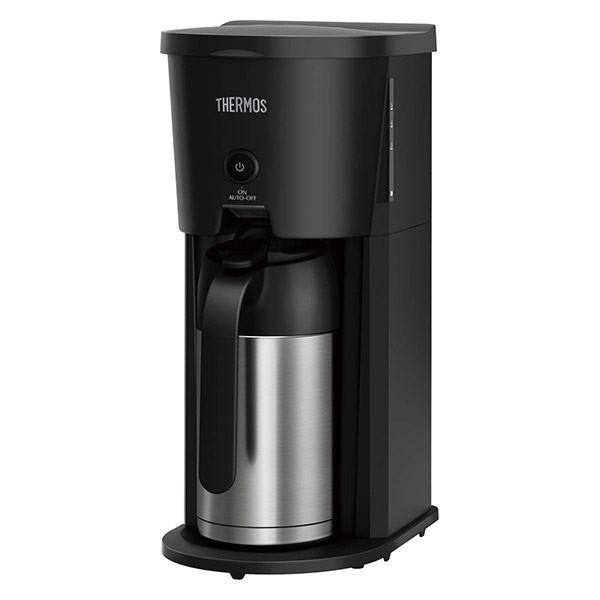 (ECF-701の後継品) サーモス 真空断熱ポット コーヒーメーカー ECJ-700 BK(ブラック)
