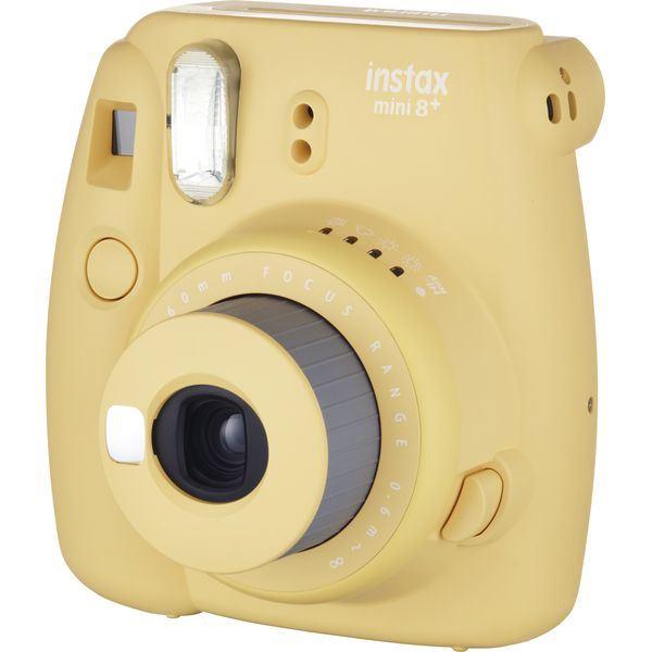 富士フイルム チェキ インスタントカメラinstax mini8プラス #16495946 ハニー
