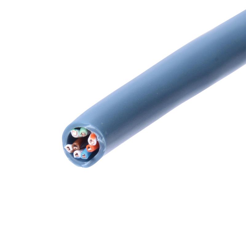 サンワサプライ カテゴリ5eUTP単線ケーブルのみ(100m・ブルー) [KB-T5-CB100BLN]