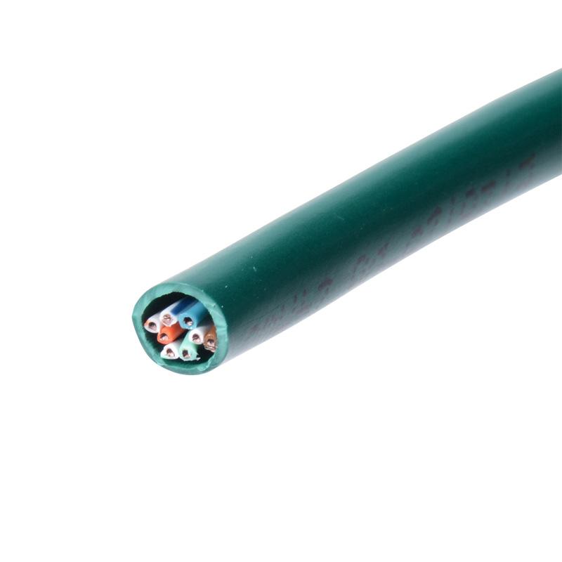 サンワサプライ カテゴリ5eUTP単線ケーブルのみ(100m・グリーン) [KB-T5-CB100GN]