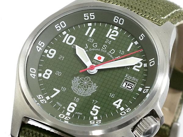 ケンテックス KENTEX 陸上自衛隊モデル 腕時計 S455M-01(バンド調整器付)