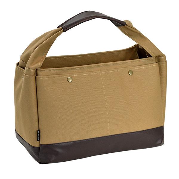 ブロンプトン BROMPTON ラバキャン タウンシリーズ 日本製 豊岡製鞄 ユニセックス トートバッグ 53408-5H ベージュ ベージュ
