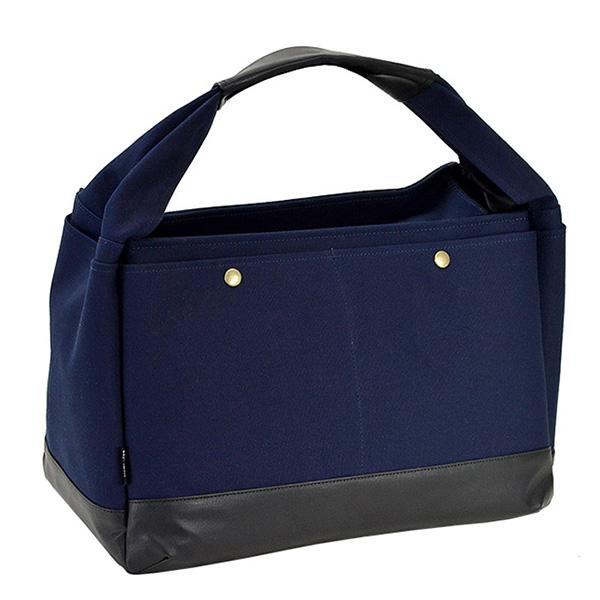 ブロンプトン BROMPTON ラバキャン タウンシリーズ 日本製 豊岡製鞄 ユニセックス トートバッグ 53408-3H ネイビー ネイビー