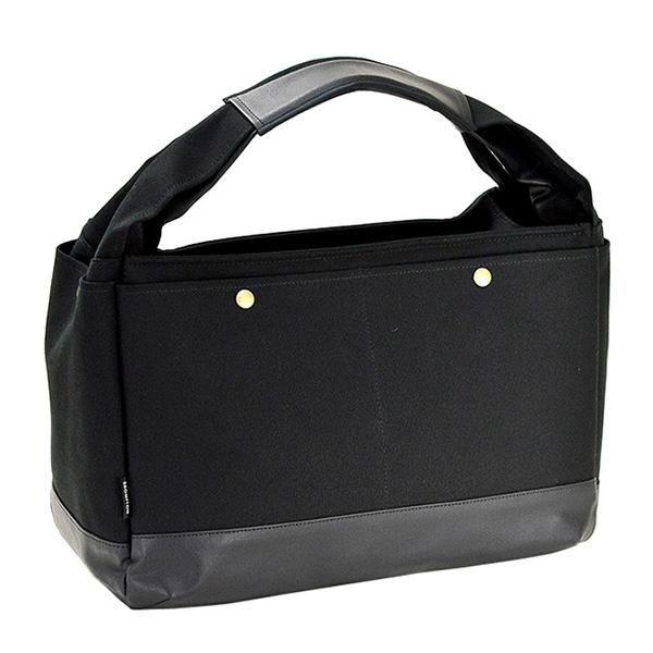 ブロンプトン BROMPTON ラバキャン タウンシリーズ 日本製 豊岡製鞄 ユニセックス トートバッグ 53408-1H ブラック ブラック