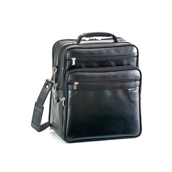 ブロンプトン ショルダーバッグ ハンドバッグ メンズ 16275 ブラック 国内正規 ブラック