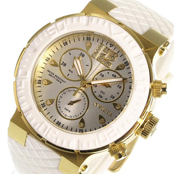 インヴィクタ INVICTA クオーツ レディース 腕時計 90281 シルバー シルバー(バンド調整器付)
