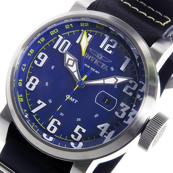 人気新品 インヴィクタ INVICTA クオーツ メンズ 腕時計 18887 ブルー/シルバー ブルー, and Me(アンドミー) a6e67976