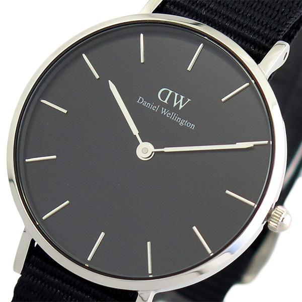ダニエルウェリントン DANIEL WELLINGTON 腕時計 レディース DW00100216 クォーツ ブラック(バンド調整器付)