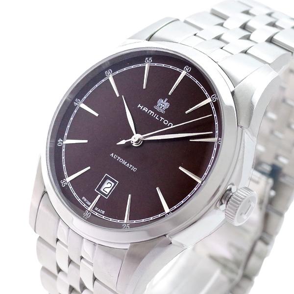 ハミルトン HAMILTON 腕時計 メンズ H42415101 アメリカンクラシック スピリット オブ リバティ 自動巻き ブラウン シルバー(バンド調整器付)