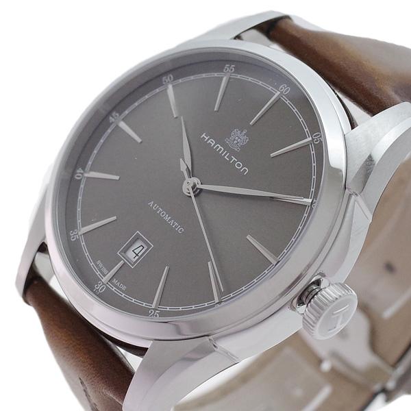 ハミルトン HAMILTON 腕時計 メンズ H42415591 アメリカンクラシック スピリット オブ リバティ 自動巻き カーキ ブラウン(バンド調整器付)