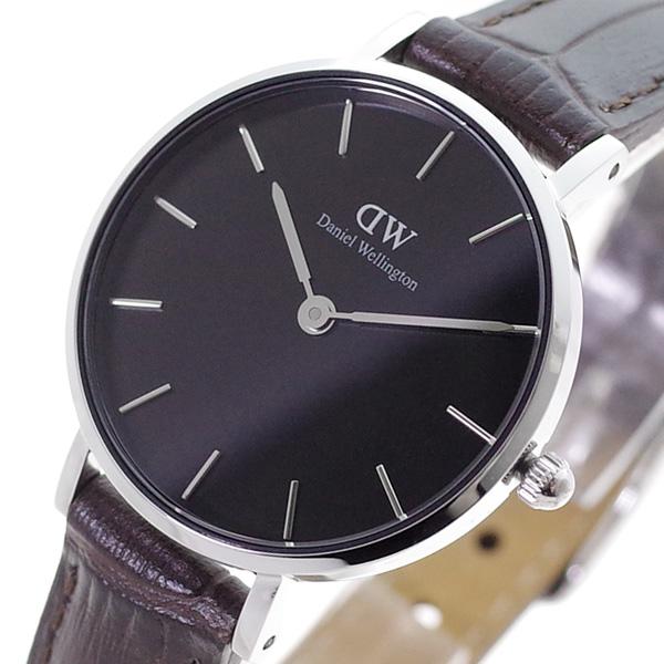 ダニエルウェリントン DANIEL WELLINGTON 腕時計 レディース DW00100238 クォーツ ブラック ブラウン(バンド調整器付)