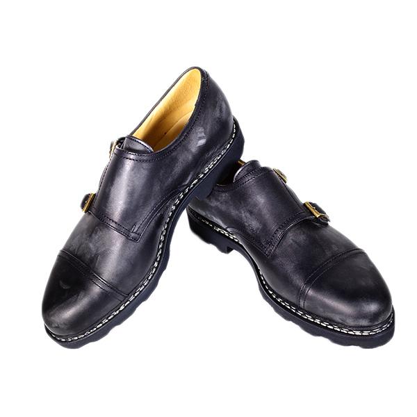 パラブーツ PARABOOT 靴 メンズ 981412 NOIR 10.0 ウィリアム WILLIAM ブラック