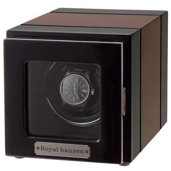 ロイヤルハウゼン ROYAL いつでも送料無料 HAUSEN 卸売り ワインディングマシーン GC03-S21EB 1本巻 ブラック