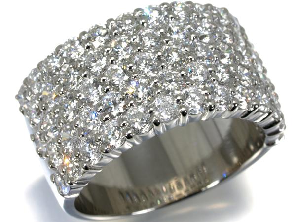 ダイヤ ダイヤモンド 3.00ct リング Pt900/プラチナ【中古】GENJ
