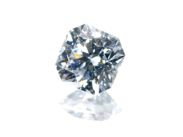 【超大幅値下げ品!】フランダースカット ダイヤ ダイヤモンド 0.354ct D SI1 ルース 裸石 ソーティング【中古】GENJ