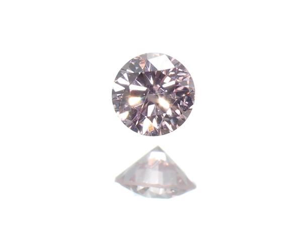 ピンクダイヤ ダイヤモンド 0.051ct FANCY LIGHT PINK I1 ルース 裸石 ソーティングメモ【中古】GENJ