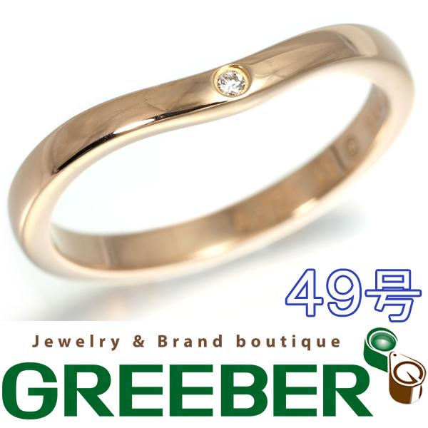 【超大幅値下げ品!】カルティエ リング 指輪 ダイヤ ダイヤモンド バレリーナ ウェディング K18PG 49号【中古】BLJ
