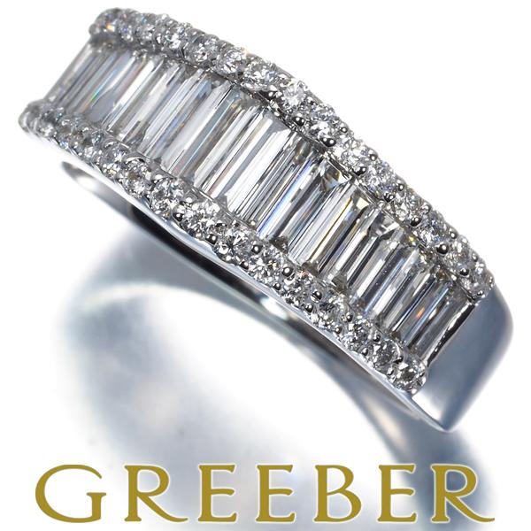 まとめ買い特価 ダイヤリング ダイヤモンド 1.00ct 2種カット 物品 K18WG GENJ 特別値下げ 中古