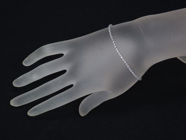 ダイヤ ダイヤモンド 1 00ct テニス ブレスレット Pt900 プラチナGENJwOn0Pk