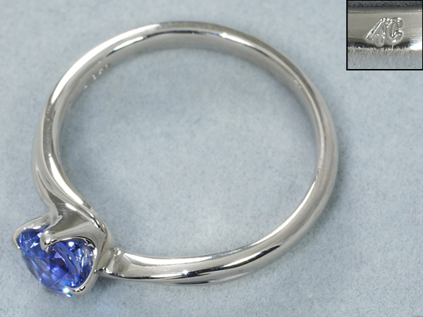 4℃ ヨンドシー リング 指輪 タンザナイト Pt950 プラチナ 10号BLJ GENJTFu35l1KJc