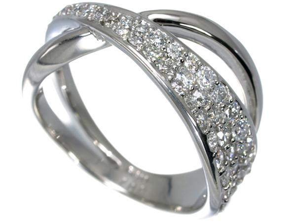 【超大幅値下げ品!】ダイヤ ダイヤモンド 1.00ct リング Pt900/プラチナ【中古】GENJ